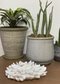 Интерьерное украшение Белая хризантема Serafina Flower Lene Bjerre фото