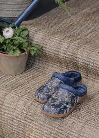 Утепленные женские садовые галоши Ashley Blue AJS-Blackfox фото