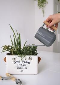 Подарок цветоводу для ухода за суккулентами - миниатюрная лейка Burgon & Ball от Consta Garden фото