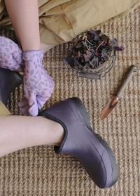 Ботильоны женские из эва и неопрена для сада и дачи Oregon Violet AJS-Blackfox фото