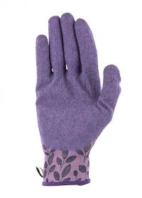 Садовые перчатки с покрытием из латекса для садово-огородных работ Eglantine Pink  AJS-Blackfox фото
