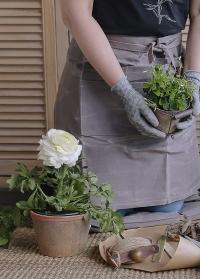 Терракотовый горшок для растений AT03 от Esschert Design фото
