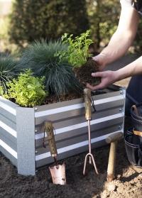 Совок садовый с медным покрытием служит для посадки и пересадки растений GT118 Copper от Esschert Design фото