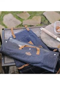 Инструменты для барбекю в чехле-сумке из джинсовой ткани GT196 Esschert Design фото