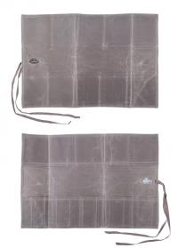Сумка-скрутка с карманами для садовых инструментов Waxed GT210 Esschert Design фото