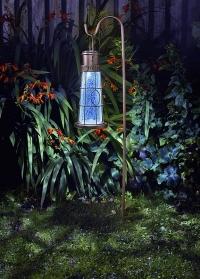 Подвесной фонарь на солнечной батарее Маяк для сада и дачи Smart Garden (Великобритания) фото