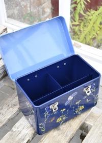 Красивый металлический контейнер для хранения семян British Meadow Collection Burgon & Ball фото