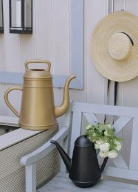 Голландская садовая лейка-кофейник 12 литров для полива цветов Lungo Gold Xala фото