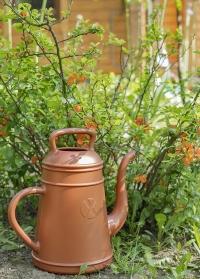Голландская садовая лейка-кофейник 12 литров для цветов Lungo Copper от Xala фото