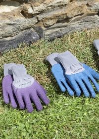 Перчатки с латексом для садово-огородных работ Multi-Task Violet Briers