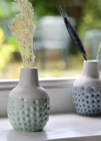 Набор 3-х керамических миниатюрных вазочек Dotty Mini Trio Burgon & Ball фото