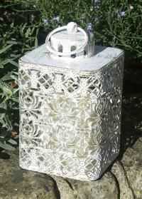 Декоративный садовый фонарь на батарее со светодиодной свечой Sumatra Smart Garden фото