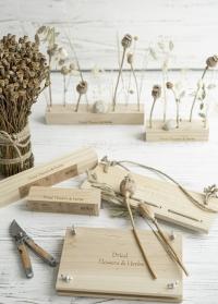Деревянные аксессуары для сухоцветов - подставки для декора FH017 от Esschert Design фото