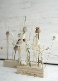 Деревянные подставки для сухоцветов Esschert Design фото