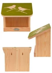 Деревянная большая кормушка для птиц Домик FB541 от Esschert Design фото