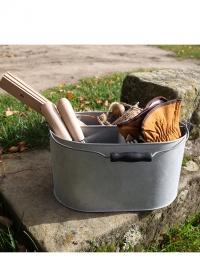Ведро оцинкованное для инструментов для сада и огорода OZ29 Esschert Design фото