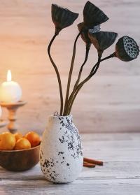 Ваза из керамики в скандинавском стиле Kara Lene Bjerre фото