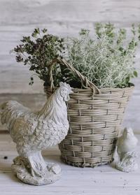 Декоративные фигурки Курица и цыпленок Lene Bjerre фото
