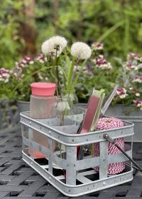 Корзина - органайзер для сада и дачи для инструментов и декора OZ39 Esschert Design фото