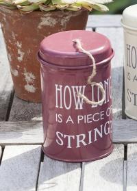 Веревка садовая в контейнере Burgon & Ball