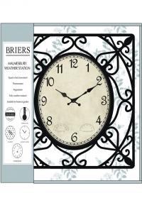 Часы уличные настенные металлические Malmesвury Briers фото