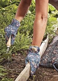 Перчатки садовые «Земляничные» Strawberry Thief by William Morris Briers