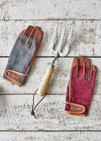 Перчатки мужские рабочие Dig The Glove Tweed Burgon & Ball фото