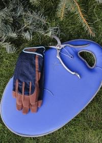 Перчатки мужские защитные для ухода за садом Dig The Glove Denim Burgon & Ball фото