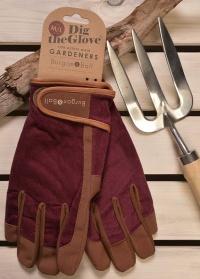 Перчатки мужские Burgundy Corduroy Burgon & Ball