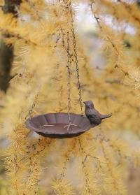 Чугунная подвесная кормушка для птиц Esschert Design FB378 фото