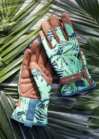 Садовые перчатки для работы с растениями Tropical Love the Glove GLO/TROPICAL фото