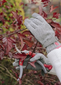 Садовые женские перчатки для дачи и сада Grey Tweed Love the Glove Burgon & Ball фото