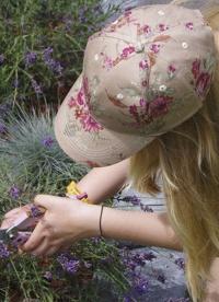 Кепка женская из хлопка от солнца CAP02 GardenGirl Classic Collection картинка