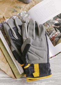 Перчатки мужские Dig The Glove Slate Corduroy Burgon & Ball фото.jpg