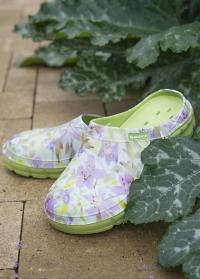 Цветные галоши из эва женские Lily Anis AJS-Blackfox картинка