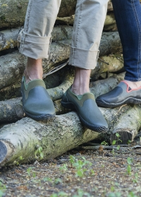 Туфли для садовые из неопрена и каучука NEO Khaki AJS-Blackfox фото