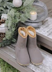 Угги резиновые зимние непромокаемые Cheyenne французского бренда AJS Blackfox фото.jpg