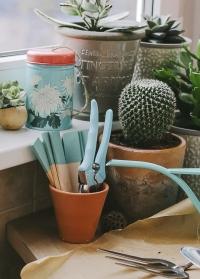Шпагат джутовый для букетов в декоративной банке Chrysanthemum Burgon & Ball фото.jpg