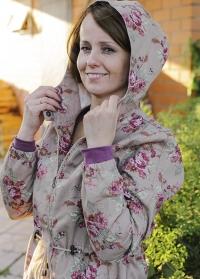 Парка-ветровка женская из хлопка GardenGirl Classic Collection