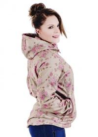 Куртка женская в цветочек SS02 GardenGirl Classic Collection фото