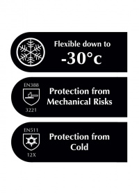 Садовые перчатки утепленные зимние суперпрочные Ultimate Briers картинка