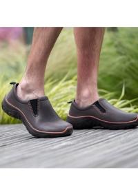 Туфли из эва для сада и огорода DERBY Brown Orange от AJS-Blackfox фото