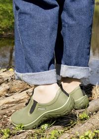 Садовые водонепроницаемые туфли из эва DERBY Khaki  AJS-Blackfox фото