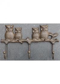 Крючки декоративные «Совы» Esschert Design