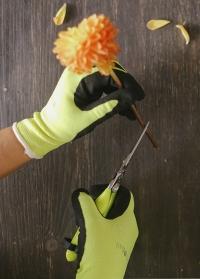 Садовые перчатки с латексом флуоресцентные Burgon & Ball фото.jpg