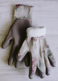 Теплые женские перчатки для сада и огорода Classic Collection GardenGirl TWG02 фото
