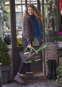 Угги ботинки зимние женские Black Ankle Boot Cheyenne французского бренда AJS-Blackfox фото