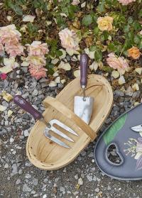Набор садовых инструментов - совок и вилка для рыхления почвы Passiflora Collection от Burgon & Ball (Великобритания)фото