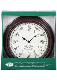 Настенные часы с пением птиц FB416 Esschert Design фото