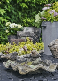 Садовая купальня для птиц из состаренной керамики Aged Ceramic AC138 Esschert Design фото